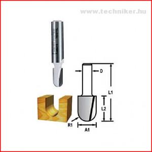 íves nútmaró 6,35x12,7x6mm termék fő termékképe