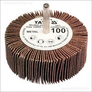 YATO csapos lamellás csiszoló 80x30mm P80 termék fő termékképe