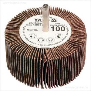YATO csapos lamellás csiszoló 80x40mm P120 termék fő termékképe