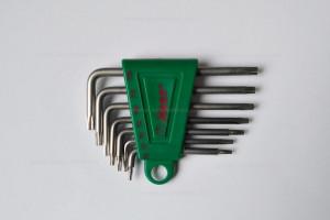 7r. torx kulcs készlet termék fő termékképe