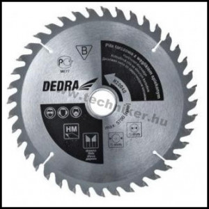DEDRA körfűrésztárcsa 160mm termék fő termékképe