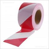 közúti jelzőszalag piros-fehér 250m