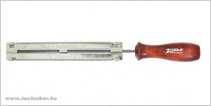 kerek reszelő 4,8mm + sablon termék fő termékképe