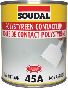 Soudal 45A kontakt ragasztó polisztirolhoz, 750 ml termék fő termékképe