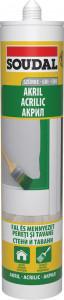 Soudal Akril tömítő, 280 ml termék fő termékképe