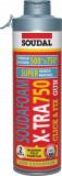 Soudal Soudafoam X-Tra 750 pisztolyhab (click),500ml