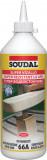 Soudal 66A poliuretán faragasztó, 750 ml