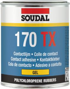 Soudal 170 TX kontakt ragasztó gél, 750 ml termék fő termékképe