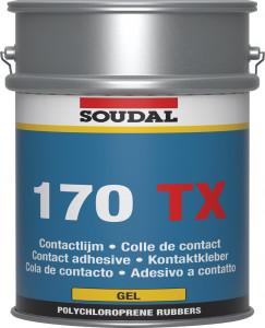 Soudal 170 TX kontakt ragasztó gél, 5l termék fő termékképe