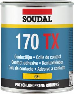 Soudal 170 TX kontakt ragasztó, 125 ml termék fő termékképe