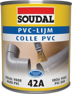 Soudal 42A PVC ragasztó, 1l termék fő termékképe