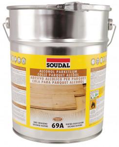 Soudal 69A alkoholbázisú parkettaragasztó, 13 kg termék fő termékképe