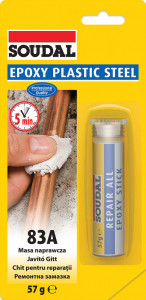 Soudal 83A Epoxy gyurmaragasztó, 57 g termék fő termékképe
