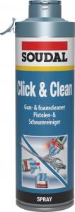 Soudal Click & Clean PU pisztoly tisztító spray,500ml termék fő termékképe