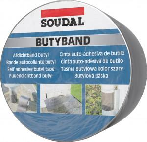 Soudal Butyband öntapadó tömítőszalag, 7.5 cm x 10 m termék fő termékképe