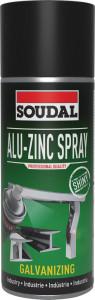 Soudal Alu-cink spray (fényes), 400ml termék fő termékképe