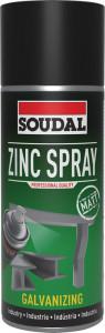 Soudal Cink spray (matt), 400ml termék fő termékképe