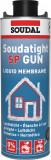 Soudal Soudatight SP Gun légtömör és párazáró folyékony membrán,1kg