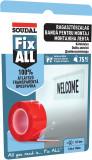 Soudal Fix ALL® átlátszó ragasztószalag, 19 mm x 1.5 m