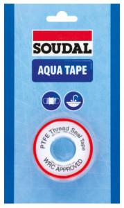 Soudal Aqua Tape teflonszalag, 12mm x 12m x 0.1mm termék fő termékképe