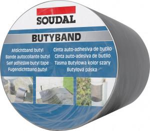 Soudal Butyband öntapadó tömítőszalag, 15 cm x 10 m termék fő termékképe