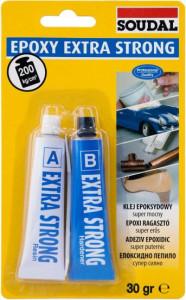 Soudal Epoxy Extra Strong hobbi ragasztó, 30 g termék fő termékképe