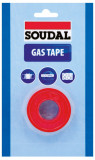 Soudal Gas Tape teflonszalag, 12mm x 12m x 0.1mm
