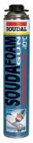 Soudal Soudafoam Professional 60 téli pisztolyhab, 750 ml