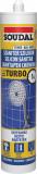 Soudal Turbo szaniter szilikon 280 ml, fehér