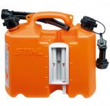 Kombinált kanna, narancssárga, Profi, 5 + 3 literes