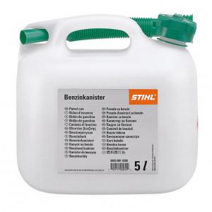 Benzinkanna, átlátszó, 5 literes termék fő termékképe