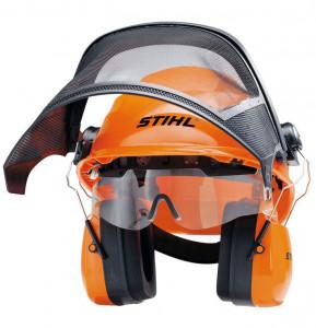 INTEGRA fejvédő készlet beépített védőszemüveggel termék fő termékképe