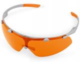 SUPER FIT védőszemüveg narancssárga lencsével