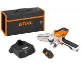 Stihl GTA 26 akkumulátoros ágvágó szett (1 x 28 Wh Li-ion akkuval)