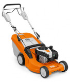 Stihl RM 448 T erős benzinmotoros fűnyíró kerékhajtással