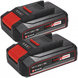 EINHELL 18V 2,5 Ah Power-X-Change Twinpack akkumulátor, 2db/csomag