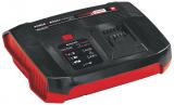 EINHELL 18V Power-X-Twincharger 6 A akkutöltő, dupla