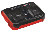 EINHELL 18V Power-X-Twincharger 3 A akkutöltő, dupla