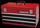 King Tony 3 fiókos szerszámos láda