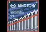King Tony 11 részes csillag-villáskulcskészlet 8-24 mm
