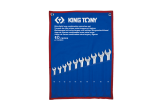 King Tony 10 részes csillag-villáskulcskészlet ultrakönnyű, hosszú 10-19 mm