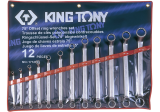 King Tony 12 részes csillagkulcskészlet 75° 6-32 mm