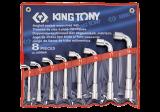King Tony 8 részes L-kulcskészlet 8-19 mm