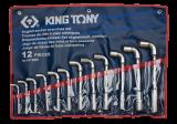 King Tony 12 részes L-kulcskészlet 8-24 mm