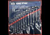 King Tony 12 részes L-kulcskészlet 8-19 mm
