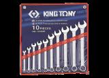 King Tony 10 részes csillag-villáskulcskészlet 8-24 mm