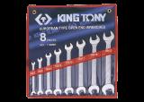 King Tony 8 részesvilláskulcskészlet 6-22 mm