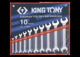 King Tony 10 részes villáskulcskészlet 6-28 mm