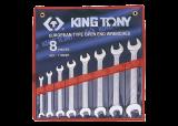 """King Tony 8 részes villáskulcskészlet 1/4"""" - 7/8"""" collos"""