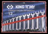 """King Tony 12 részes csillagkulcskészlet 1/4"""" - 1-1/4"""" collos"""